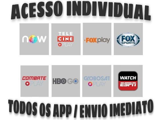 Satisfação 1 Ano Acesso Telecine, Fox, Hbo E Outros Play