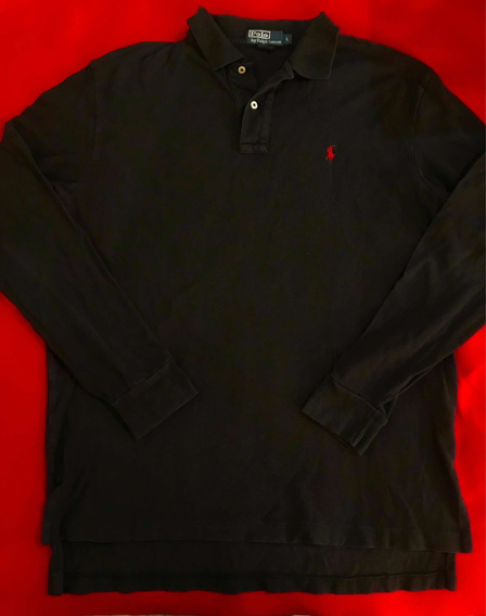 Playera Polo Ralph Lauren 100% Original Talla L Manga Larga