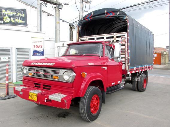 Dodge 300 Brasilera Camión Estacas