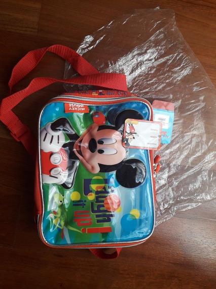 Lunchera Térmica Disney Mickey Mouse