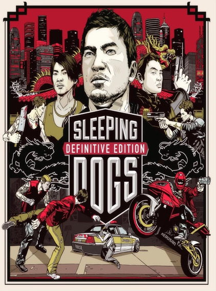 Sleeping Dogs Definitive Edition (mídia Física)