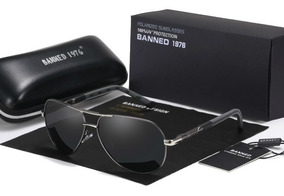 48ee353e1c B Gafas Sol Polarizadas Hd Uv400 Banned Aviador Hombre Mujer