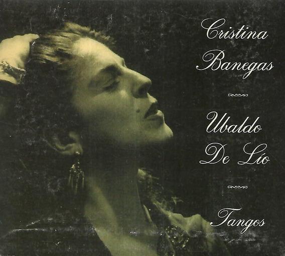 Cristina Banegas Ubaldo De Lio Album Tangos Sello Cdv Discos