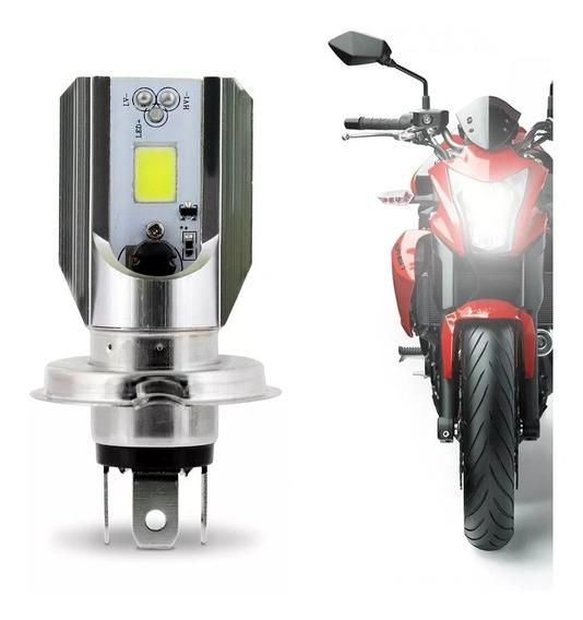 Lampada Farol Led H4 Moto Xre 300 Cg Fan Titan 125 150 160