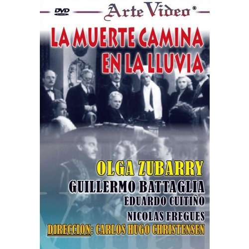 La Muerte Camina En La Lluvia - Olga Zubarry - Dvd Original