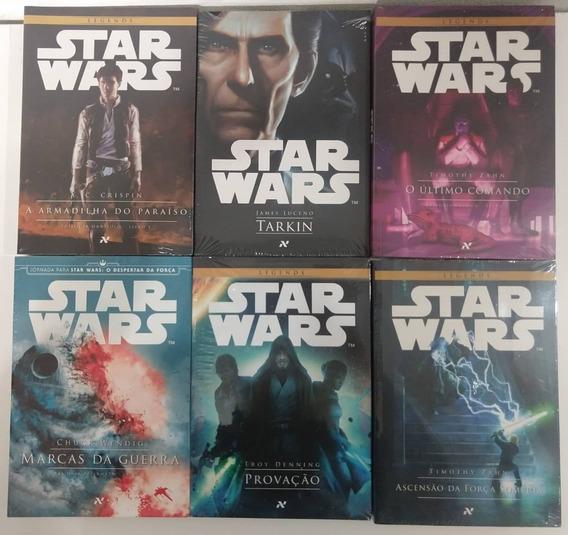 Kit Livros - Star Wars - 6 Livros Lacrados