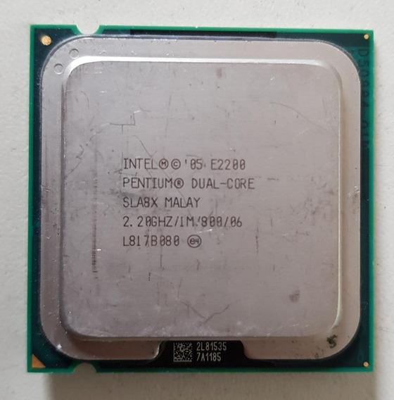 Processador Intel Dual Core E2200 2.20ghz Usada Ref: 01510