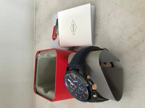 Relógio Fossil Grant Black And Blue Fs5061