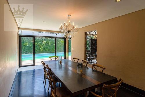 Casa Com 4 Dormitórios À Venda, 456 M² Por R$ 2.340.000 - Jardim Guedala - São Paulo/sp - Ca0530