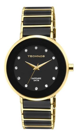 Relógio Technos Sapphire 2035lmm/4p Safira Ceramica Nfe