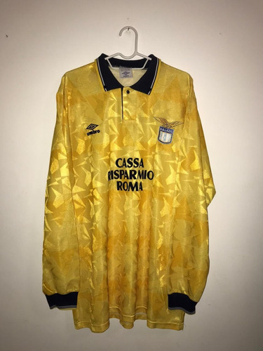Camisa Oficial Lazio - Umbro #11 Ruben Sosa 1989