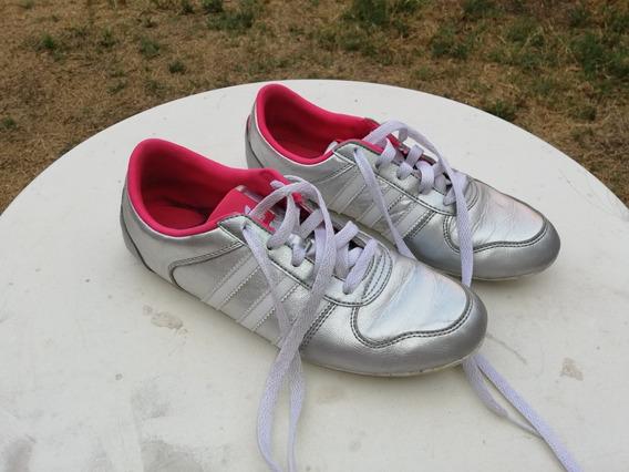 Zapatillas adidas Plateadas Originales