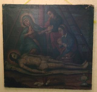 Pintura Antigua Siglo Xvii
