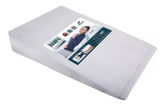 Travesseiro Anti Refluxo Adulto Com Capa Em Percal Full