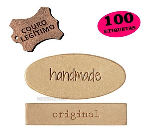Imagem 1 de 4 de Etiqueta Sintético Sua Marca 100 Unid Personalizado C/ Logo