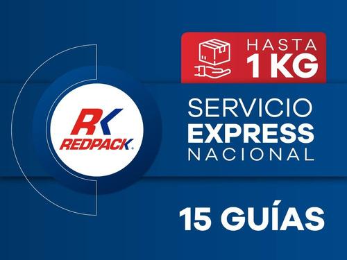 15 Guías Prepagadas Express Hasta 1 Kg