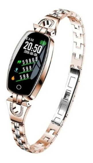 Reloj Inteligente Smartwatch P/ Mujer Dama Presion Arterial