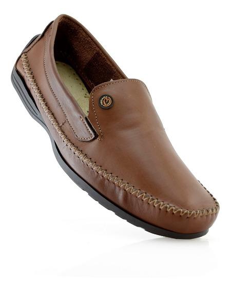 Mocasin Talle Especial Cuero Pegada 540771-02 Elis Calzados