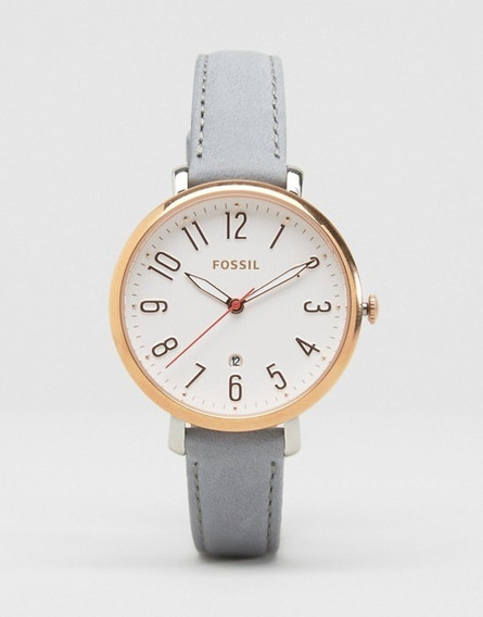 Reloj Fossil Es4032 Color Dorado Y Blanco Mujer Dama Lujo