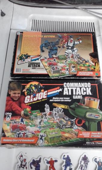 Gi Joe Commando Attack Game Com Caixa Ñ Completo Hasbro 2003