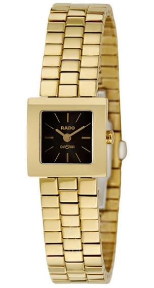 Relógio Rado R18987153 Diastar Aço Inox Dourado 12xs/juros