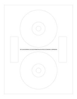 Etiquetas Autoadhesivas Para Cd Dvd 1000 Unidades Papel Obra Para Usar En Todo Tipo De Impresora