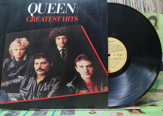 Queen Greatest Hits Lp Emi Odeon 1981 Stereo Encarte