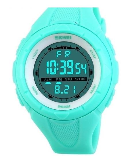 Reloj Deportivo Mujer Skmei Cronometro Agua /vm