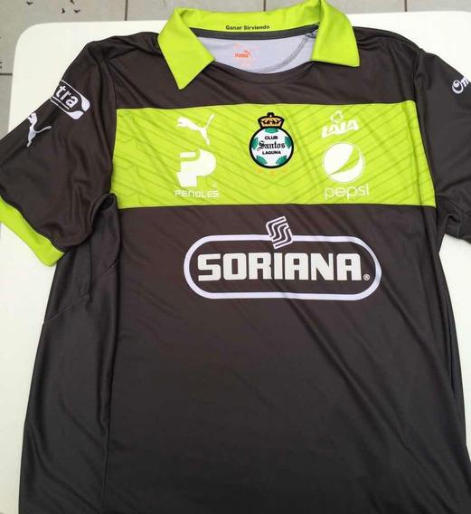 Camisa Futebol Santos Laguna