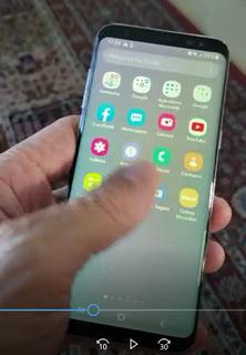 Celular Samsung S8 Com Defeito Na Tela