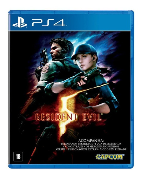 Game Ps4 Resident Evil 5 Pix90