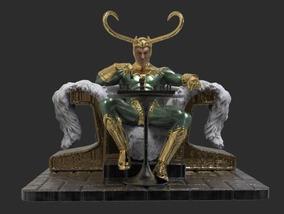 Loki Em Jogo De Xadrex