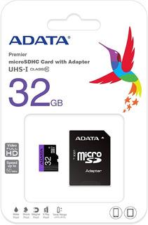 Tarjeta De Memoria Adata Ausdh32guicl10-ra1 Micro Sd 32gb C/