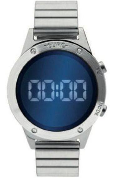 Relógio Euro Prata Espelhado Digital Eujhs31baa/3a