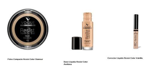 Maquillaje Vogue Resist Kit X 3 B - Unidad a $11667