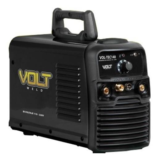 Soldadora Inversor 3 En 1,140a Bi Voltaje Vol-tec140