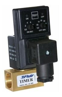 Purgador Eletrônico Dreno Automático - 1/2 - 220v - Fluir