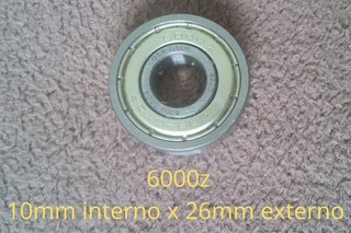 Rolamento 6000z Kit C/3 Unidades