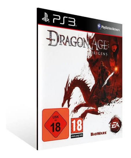 Dragon Age Origins Ps3 Jogo Psn Envio Rápido