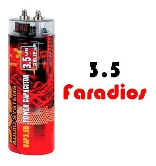 Capacitador Boss 3.5 Farads Cap3.5sr
