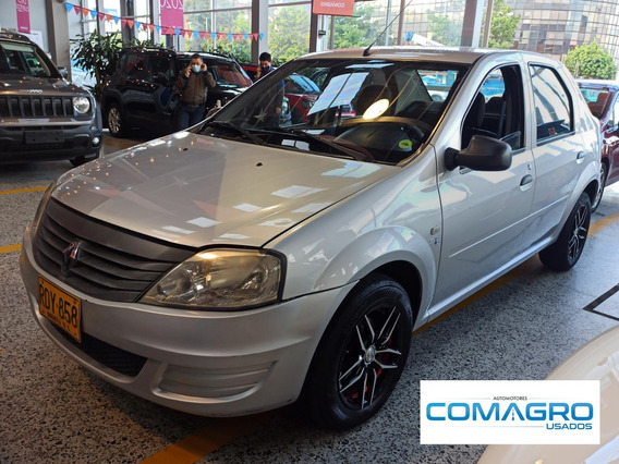 Renault Logan 1.4 Familier A.a.2011 Rdy858