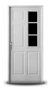 Puerta `m3756` Blanca Inyectada 80 Izquierda `presta`
