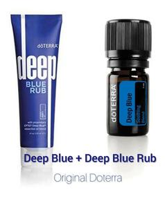 Óleo Essencial Doterra Deep Blue + Gel Deep Blue Rub Puro