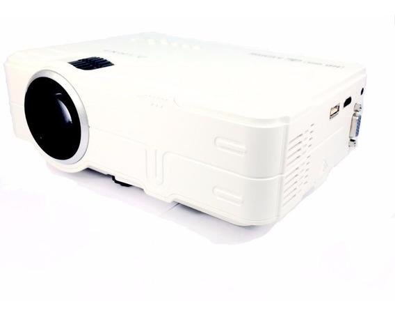 Projetor Led Rd-812 1080p Full Hd Usb Vga Av Hdmi Video Imagem Foto Datashow