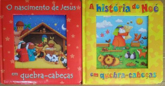 O Nascimento De Jesus+ A História De Noé Em Quebra-cabeças