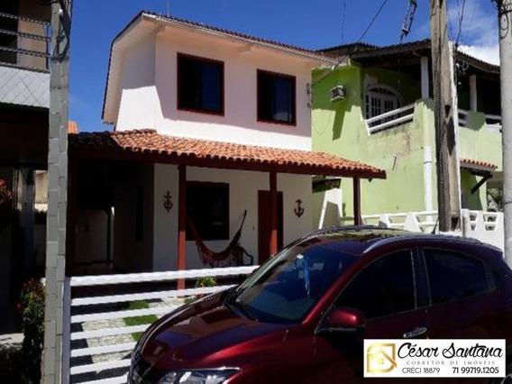 Casa 3/4 Codomínio Em Fechado Praia Do Flamengo - Ca00253 - 32420881