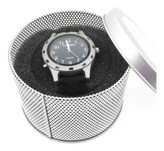 Reloj Hombre Ejecutivo Max Time Analógico C/caja Mx01-002gr