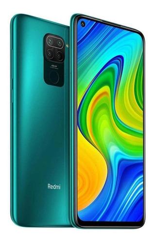Celular Smartphone Xiaomi Redmi Note 9 128gb Verde - Dual Chip