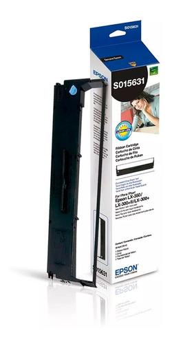 Cinta Ribbon Cartucho De Impresión Negro Epson Lx350