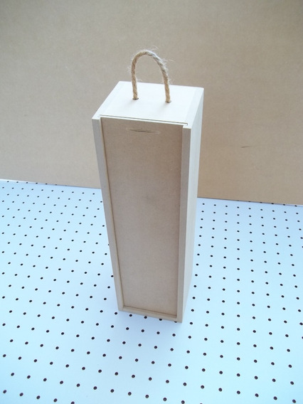 Cajas De Madera Para Bot. De Vino(mdf)(grabado Incluido)